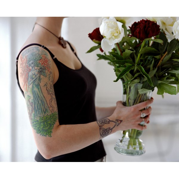 Maintaining adequate moisture can help your tattoos heal and look their best.