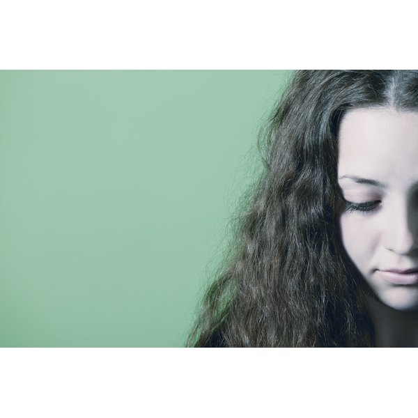 Lice in your hair can cause itching and discomfort.