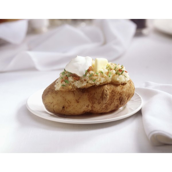 Have a potato bar with either baked or mashed potatoes and all of the toppings.