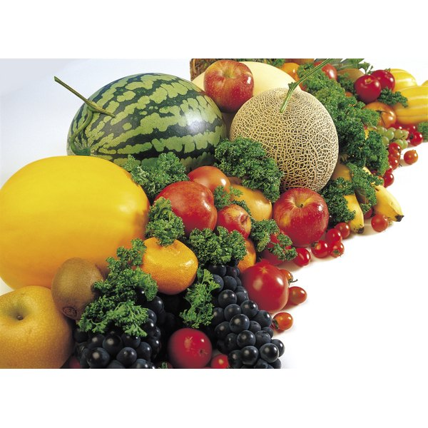 Colorful fruits and vegetables help protect your eyes.