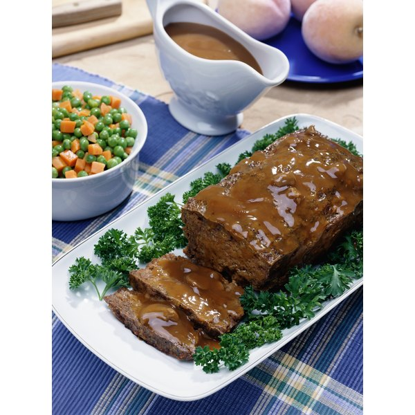 For a change, make your meatloaf with ground pork, beef, turkey, duck or bison.
