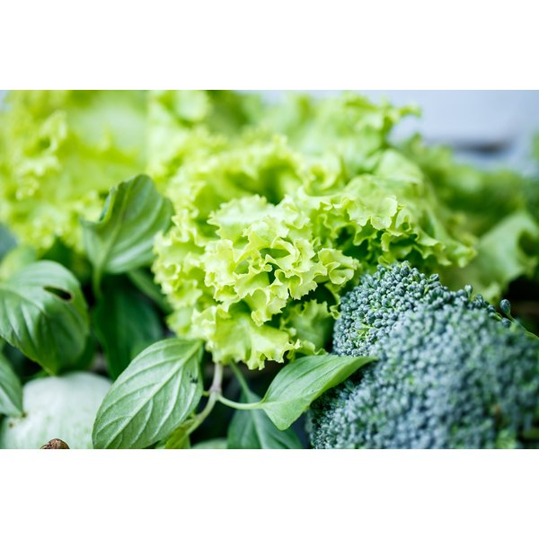 Green leafy vegetables are high in iron but may not cure deficiency.