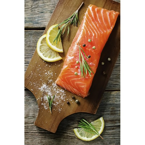 Salmon is a flavorful fish and can be stuffed with a variety of ingredients.