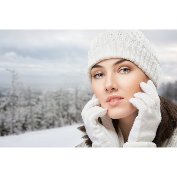 Take extra steps to keep your skin moisturized during the winter.