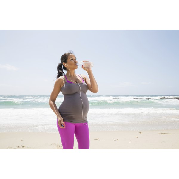Most women should exercise and stay active during pregancy.