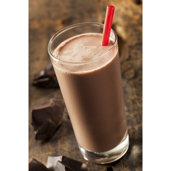 Chocolate milk is a good post-workout choice for endurance athletes.