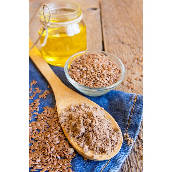 Flaxseeds are rich in nutrients.