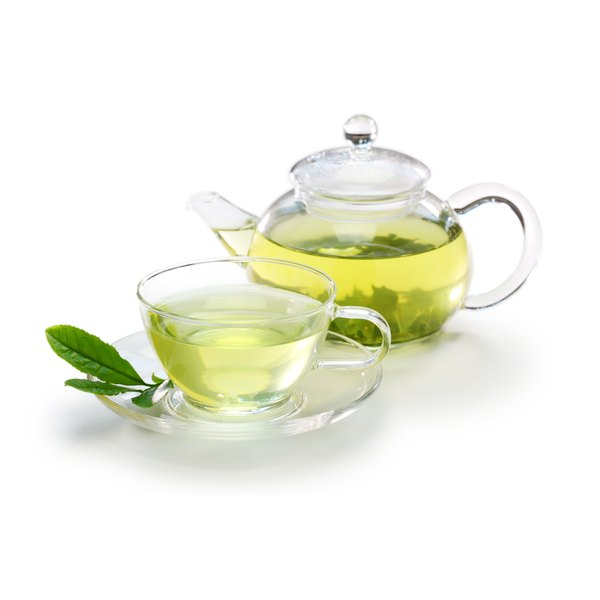 Green tea may slightly decrease abdominal fat, especially in conjunction with exercise.