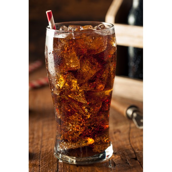 Potassium citrate is used in soft drinks as a buffer.