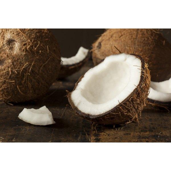 Coconut oil contains caprylic acid.