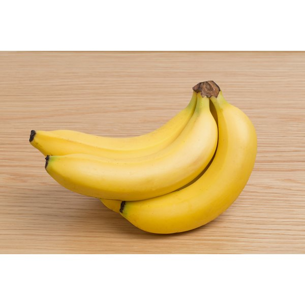 When experiencing diarrhea, have bland foods such as rice and bananas.