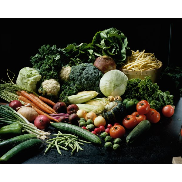 Consume more vegetables to increase your fiber intake.