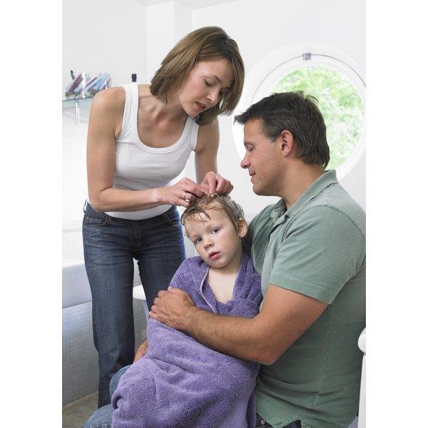 Lice are especially common in children.