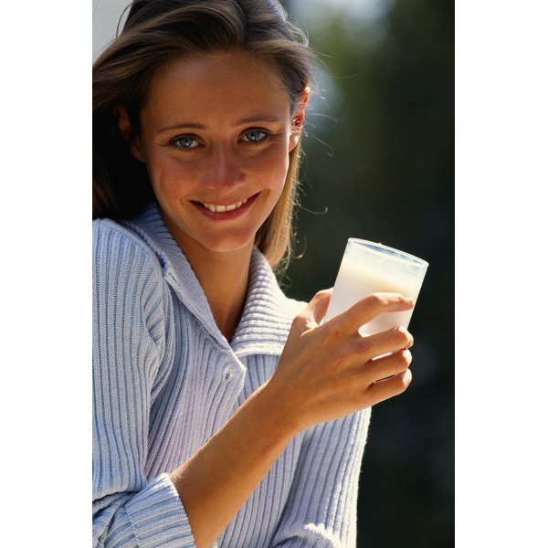 Most milk is fortified with vitamin D.