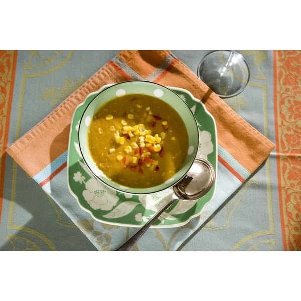 Soup can be a filling, low-fat way to lose weight.