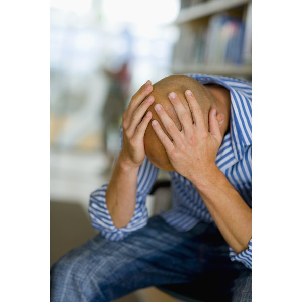 Depression is sometimes linked to low progesterone, particularly in older men.