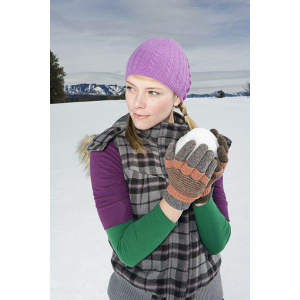 A comfortable pair of gloves keeps you happy all winter.