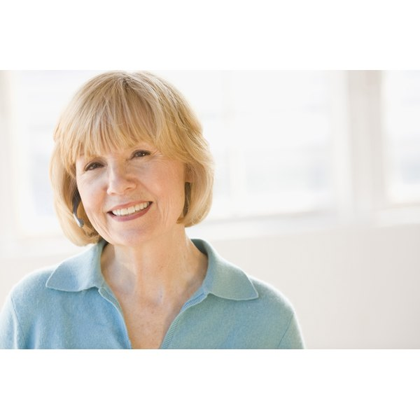 Healthy hair growth after menopause.