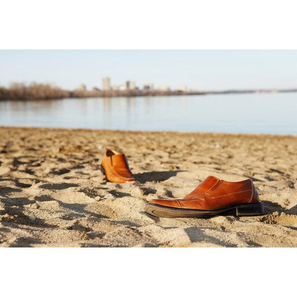 Wearing loafers instead of boat shoes to the beach can be disastrous.