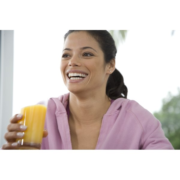 Fruit juice offers a healthy alternative to sugary drinks and sodas.