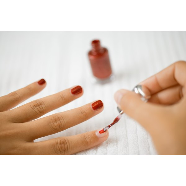 Applying thin layers makes polish last longer and dry faster.