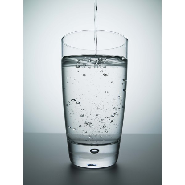Water is part of the clear liquid diet.