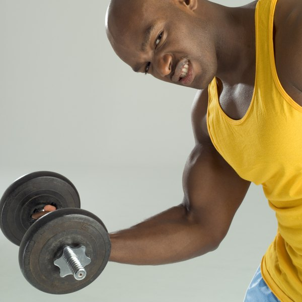 While testosterone helps to build muscle, only exercise makes you stronger.