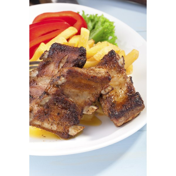 Proper reheating will prevent beef ribs from getting dried out.