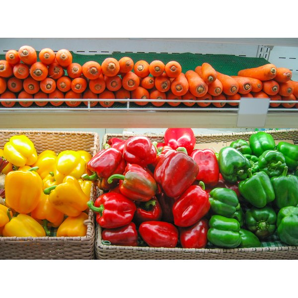 Colorful fruits and vegetables are good sources of antioxidants.