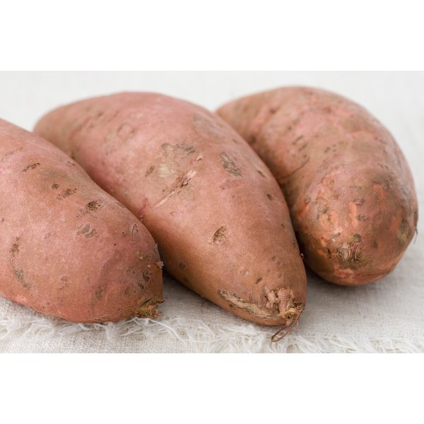 Higher calorie starchy vegetables like sweet potatoes can help you to gain weight.