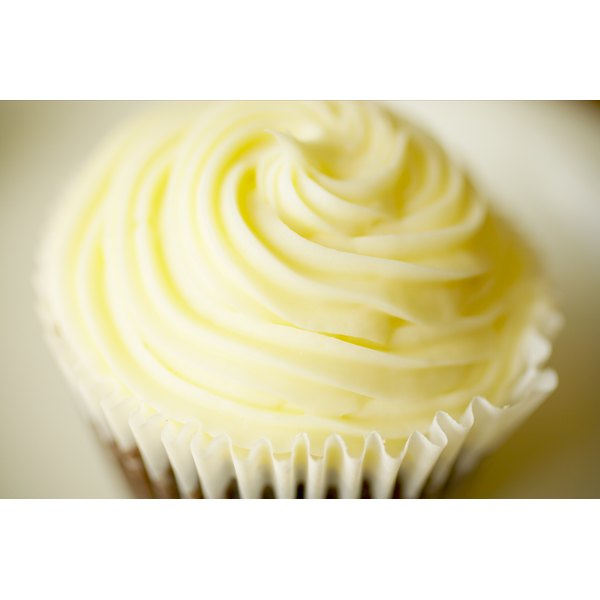Use low-fat cream cheese for healthier cupcake frosting.