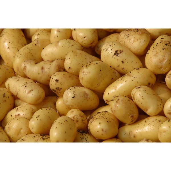 Potatoes with the skin on provide Vitamin B6.
