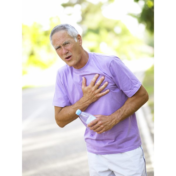Chest pressure may indicate a heart attack.