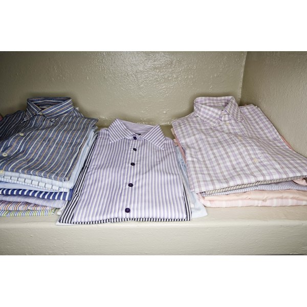 Regular dress shirts can be difficult to keep free of wrinkles.
