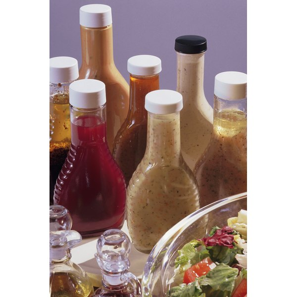 Even vinegar-based salad dressings won't last forever.