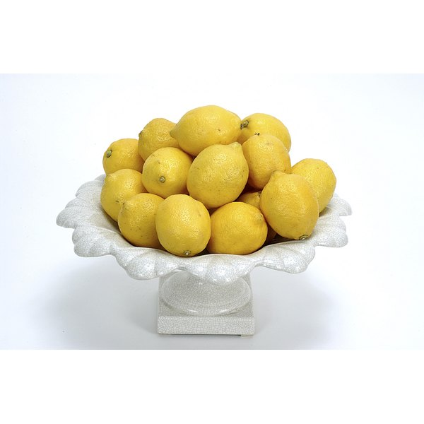 Brighten your dingiest whites with a little lemon juice.