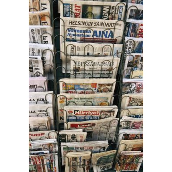 how to make a paper look like a newspaper in microsoft