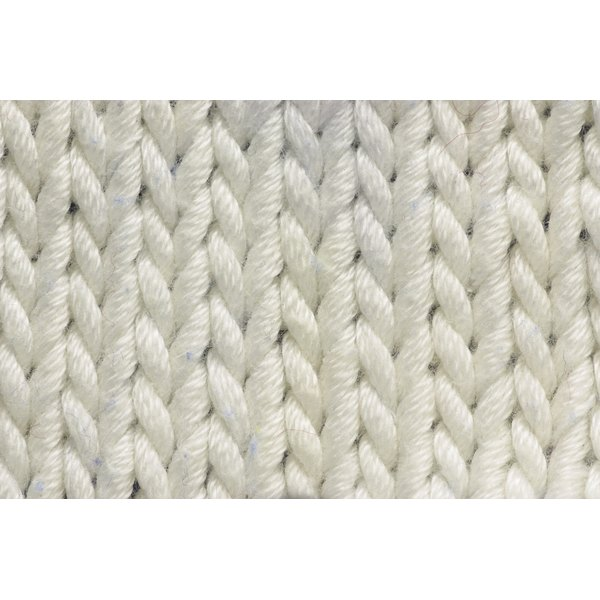 Extend the bottom sweep of flexible knits, like cotton.