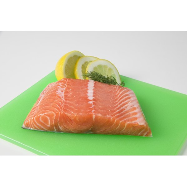 Salmon oil is rich in vitamin D