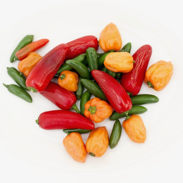 Tasty and hot, peppers can burn your skin as well as your tongue.