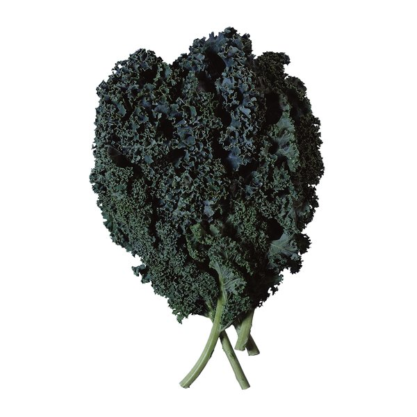 Dark green leafy vegetables provide nutrients to maintain healthy vision.