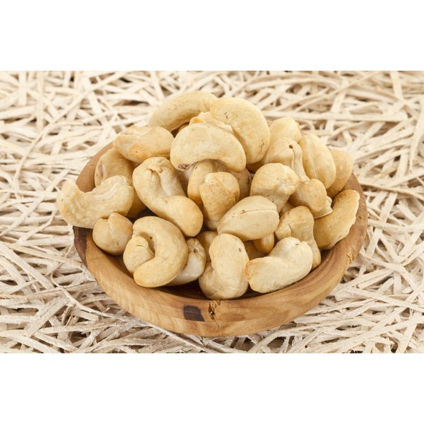 A large bowl of cashews.