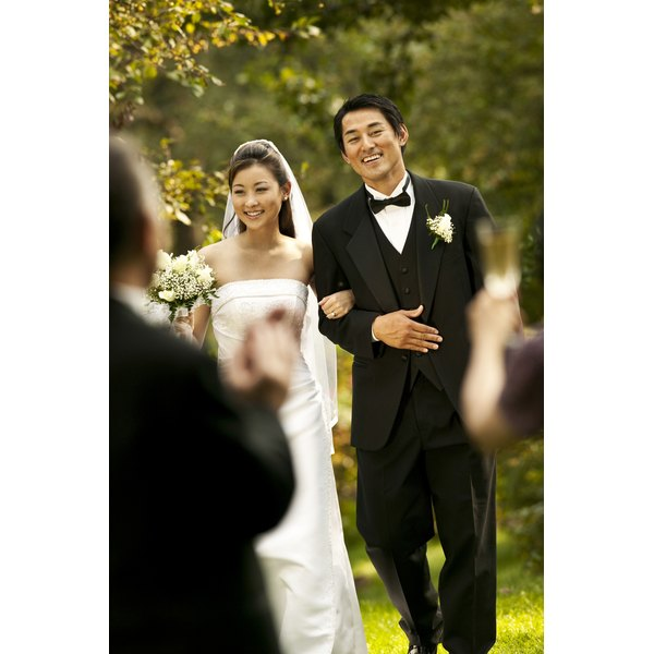 Wedding ceremonies can be worded in a variety of ways.