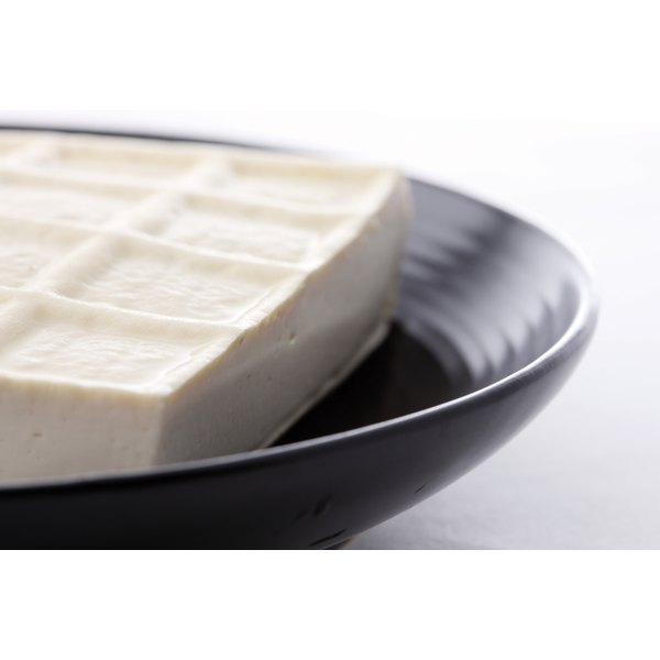 Tofu contains soy, a major allergen.