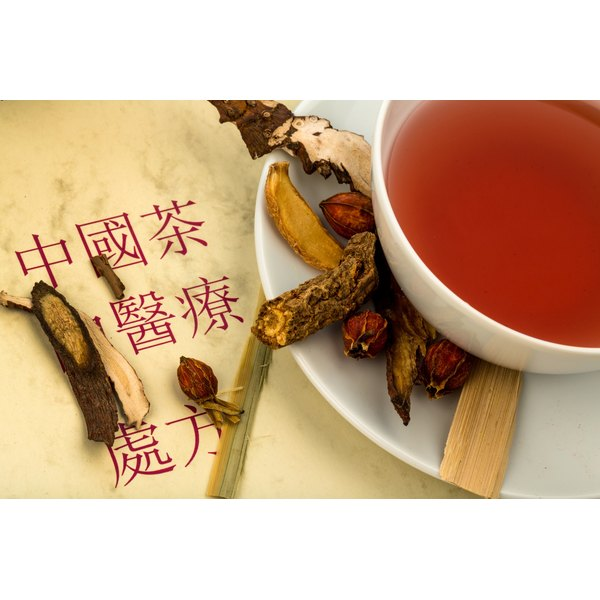 A cleansing tea made with Chinese herbs.