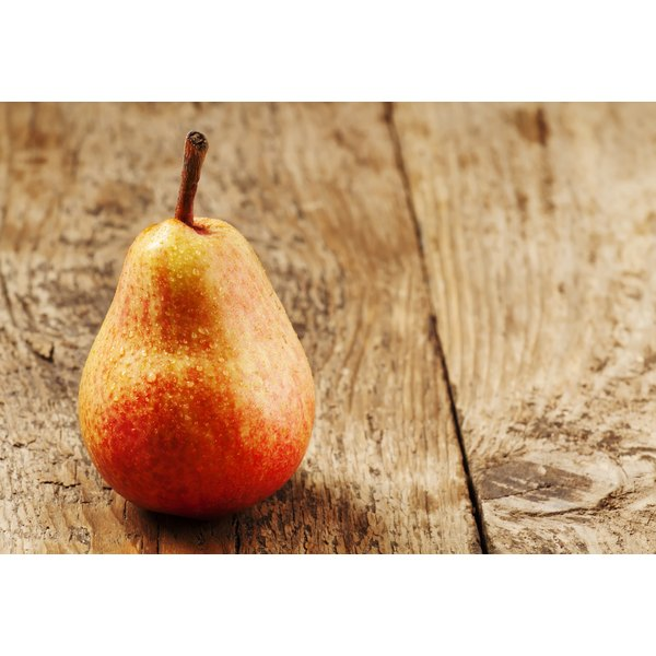 Sorbitol occurs naturally in pears.