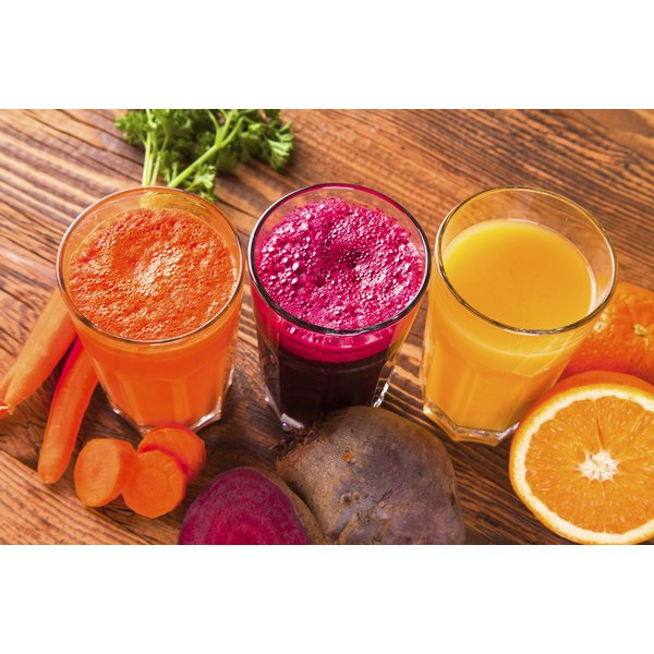 Mouth aches from a juice fast may be a sign of different conditions.