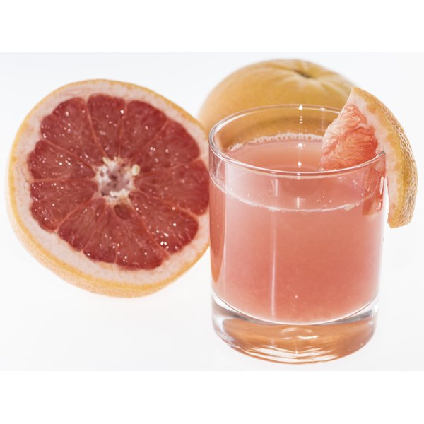 The vitamin A in grapefruit juice promotes blood cell development.