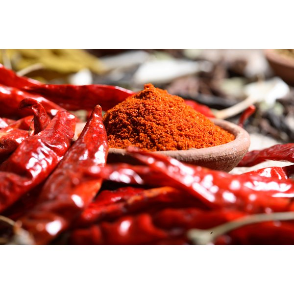 Hot peppers provide a slight metabolic boost.