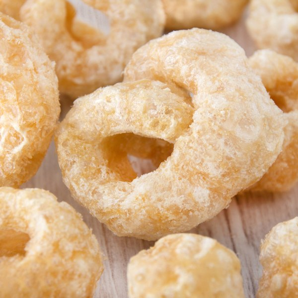 Pork rinds are a salty snack to enjoy in moderation.